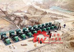 西藏铁路施工单位400kw沃尔沃并机发电机组