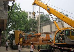 河南邓州第三人民医院800KW济柴发电机组